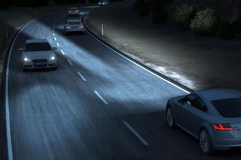 audi matrix headlights audi showcases its 39 matrix 39 headlights in new video aol