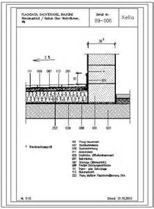 balkon sonnenschutz cad detail 09 006 wandanschluß balkon über wohnräumen wm xella deutschland heinze de