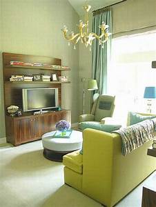 25, Green, Living, Room, Design, Ideas