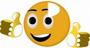 Thumbs Up Smiley2 Clip Art at Clker.com - vector clip art ...