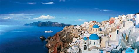Santorini - Greece (Panoramic), 1000 Piece Jigsaw Puzzle ...