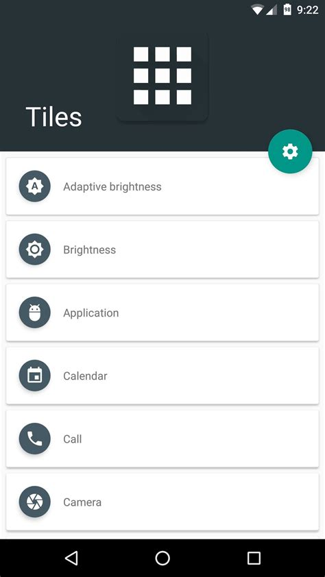 how to add your own settings tiles in android nougat
