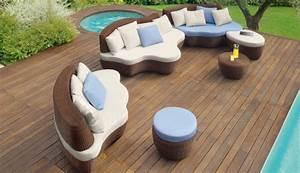 Mobilier Exterieur Design : mobilier de jardin design par roberti mon coin designmon coin design ~ Teatrodelosmanantiales.com Idées de Décoration