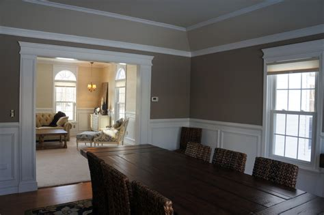 moulding  trim traditional dining room  york