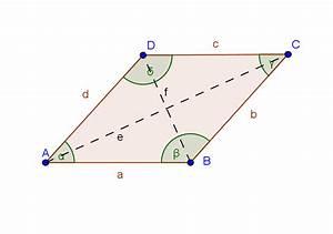 Fläche Raute Berechnen : formel erarbeitung fl cheninhalt von vierecken mit aufeinander normal stehenden diagonalen ~ Themetempest.com Abrechnung