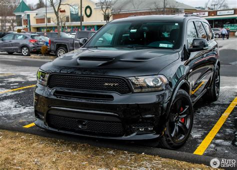 Given its horsepower rating, the 2021 dodge durango srt hellcat is definitely quick, despite its and despite the durango's extra mass compared to the trackhawk, the dodge suv's brakes are actually. 2018 Dodge Durango SRT | Dodge durango, Dodge suv, Dodge