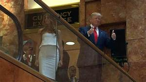 Watch Donald Trump's Grand Escalator Entrance to His ...