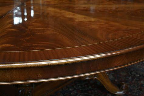 large round table large oversized round dining table large round mahogany