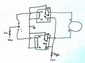 Wiring Circuit For Relays In The Window Motor Layout   Electrical    Instruments By Lotuselan Net