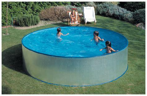 piscine hors sol acier enterree kit piscine acier h90 cm gr 233 id 233 ale pour les enfants