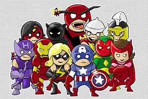 urbanMYTH studios: Lil Dude Avengers