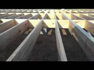 building a house floor and walls youtube With how to level floors in a house