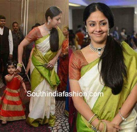 tamil actress jyothika biodata jyothika in kanjeevaram saree south india fashion