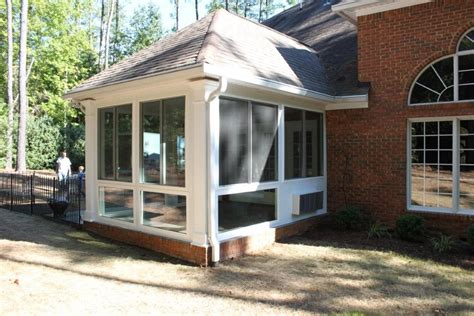 vinyl windows patio enclosure porch enclosure exterior spartanburg sc architectural glass