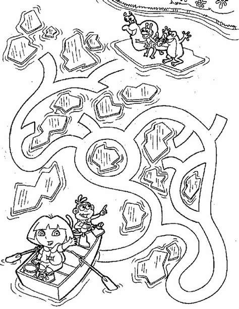 Doolhof Spelletjes Kleurplaat by Kleuren Nu Doolhof Kleurplaten