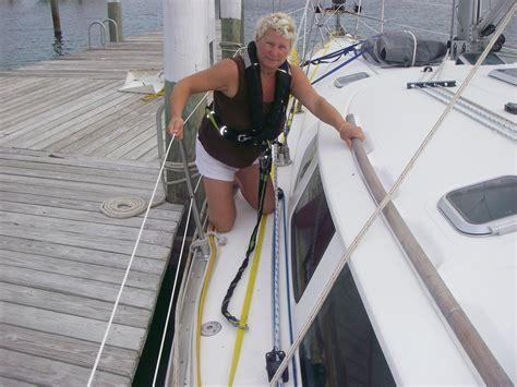 Sailboat Jacklines by November 171 2011 171 Blue Water Sailing