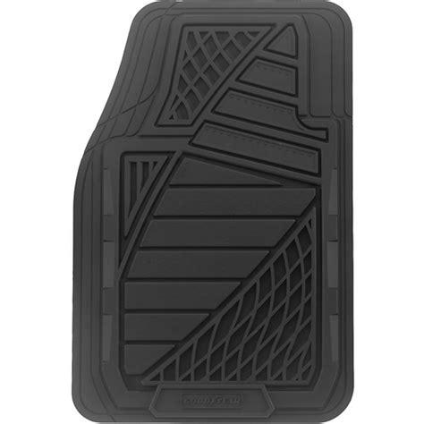 Rubber Car Floor Mats Walmart by Goodyear 4pc Premium Rubber Floor Mats Walmart