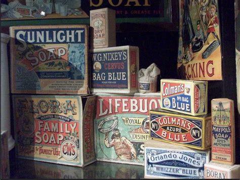 victorian era soap packaging sunlight lifebuoy