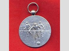 1920 British Silver Football Medal Memora Football
