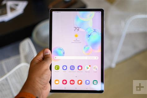 samsung galaxy tab s6 review tablet with a trackpad digital trends