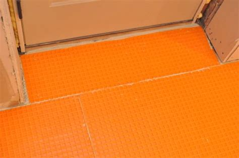 Ditra Xl Tile Underlayment by How To Install Schluter Ditra Tile Underlayment One