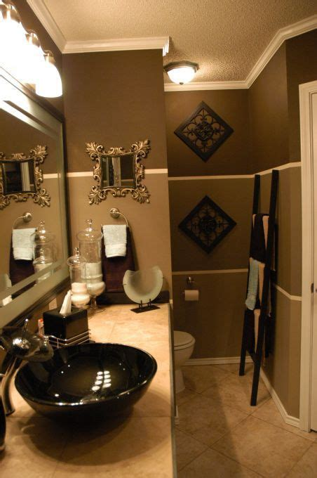 Bathrooms Color Ideas by Gold Paint Color With White And Seafoam Tile Bathroom