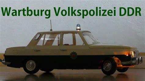 wartburg  volkspolizei fernlenkauto veb kombinat piko