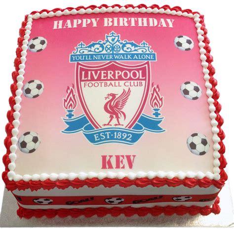 Liverpool Birthday Cake  Flecks Cakes
