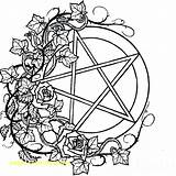 Coloring Pages Pagan Wiccan Mandala Sewing Machine Adults Adult Books Bubble Printable Gum Gumball Colouring Drawings Pentacle Colour Print Getcolorings sketch template