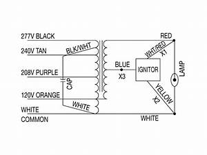 Multi Tap Ballast Wiring Diagram