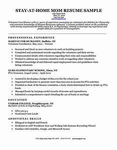 stay at home mom resume sample writing tips resume With homeschool mom resume