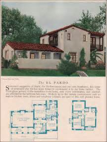 colonial revival house plans residential architecture the el pardo house plans 1929 home builders catalog