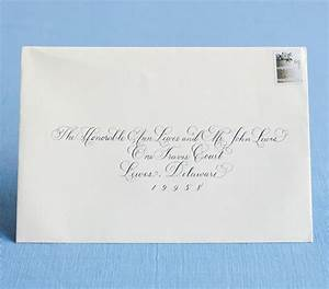 How to address wedding invitations for Etiquette addressing wedding invitations judge