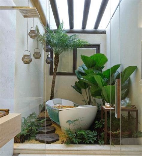 garden bathroom decor ideas