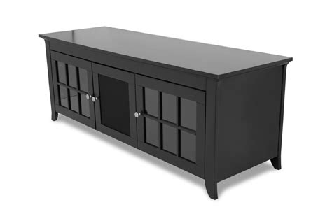 Tv Credenza Black by Techcraft Cre60b 60 Quot Wide Flat Panel Tv Credenza Black