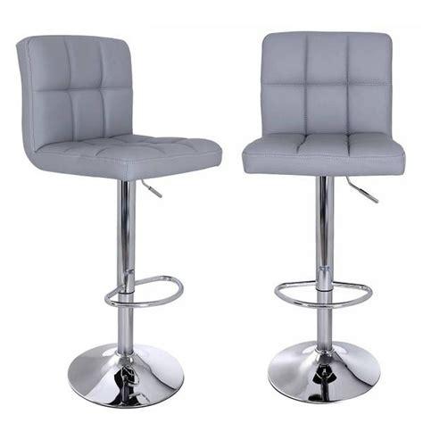 chaise de bar grise convertable chaise de bar grise concernant tabouret à vis