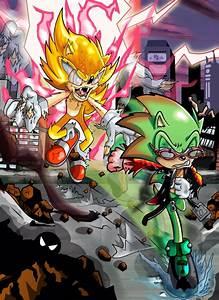 Fleetway Super Sonic images Fleetway Super Sonic VS ...