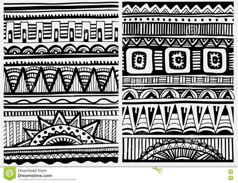 teppich afrikanisches design set of patterns vector cartoondealer 85295423