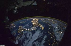 Astronaut Looks Down on Earth from Space | Inspirational ...