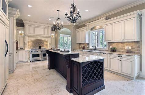 antique white kitchen cabinets design  luxury
