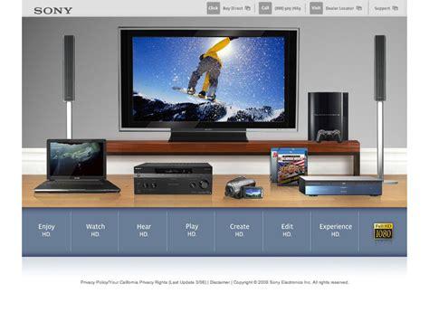 sony usa sony electronics hd microsites alex louie freelance