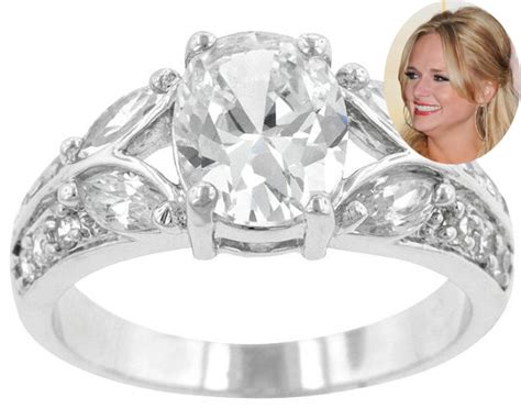 miranda lambert wedding ring designer top 10 look a like celebrity engagement rings