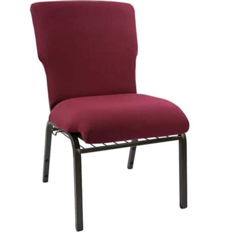ec maroon economy 21 inch church chair the furniture family