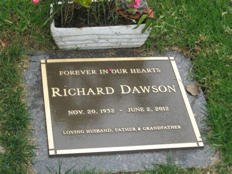 bobby helms burial richard dawson died of esophageal cancer at 79 he is