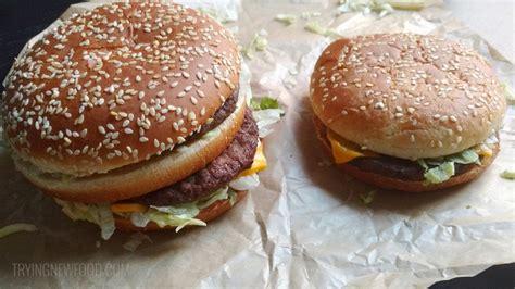 mcdonalds mac jr grand mac  big mac   food
