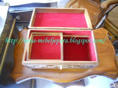 tempat perhiasan set oval hiasan dan asesoris kayu jati murah tempat lilin kayu
