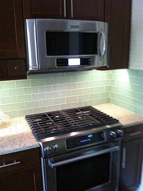 glass kitchen backsplashes surf glass subway tile subway tile outlet