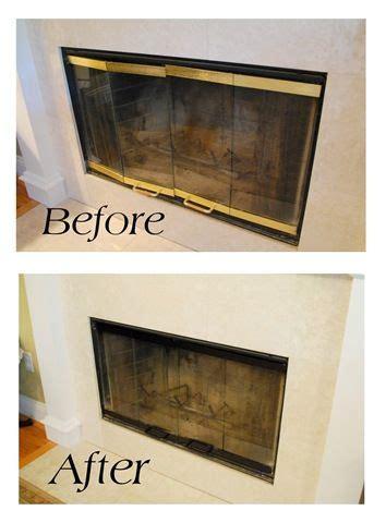 Fireplace Door Paint - fireplace doors on door design door and
