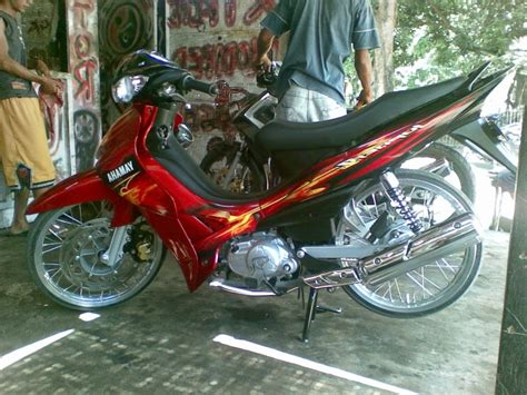 Modif Jupiter Z by Modifikasi Motor Z1 Beemotor