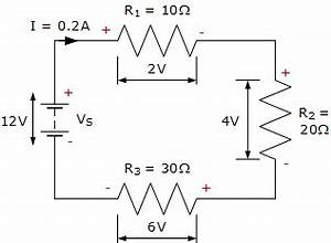 kirchhoffs voltage law basic electronics tutorials With kirchhoffs laws dc electric circuits worksheets